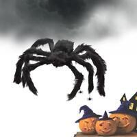 Spider Halloween Decoration Haunted House Prop Indoor Outdoor BlA Giant 300mm GA