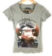 Diesel T8 Circsnake F Women Grey T Shirt XXSmall NWT Authentic Retail 58 USD