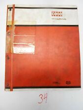 Case 1845 Uniloader Service Manual & 1845 S PARTS CATALOG C1277 9-73925 10/75,77