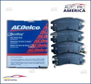 (1) NEW OEM ACDelco REAR Brake Pad Set Ceramic Disc 17D698MEX 17D698M