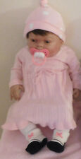 """Reborn Ethnic/Biracial Infant 21"""" Therapy Baby Justice A Collectors Item"""
