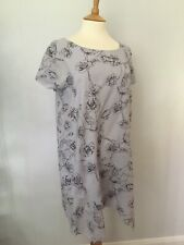 PHASE EIGHT Aude short sleeved 100% cotton top blouse tunic 12 BNWT