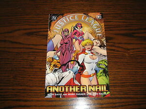 DC Comics - JUSTICE LEAGUE Another Nail #2 Comic!!  2004 Glossy VF