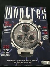 Watch Magazin / Montres Magazine #92 LOUIS VUITON printemps 2014 148 pages