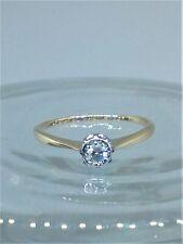 18ct Yellow Gold & Platinum Diamond Engagement Ring M1/2     R010