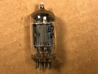 Vintage 1950s RCA 12AU7 Tube tests Strong Balanced Long Plate D Getter
