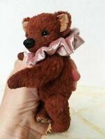 """OOAK Artist teddy bear  5"""""""