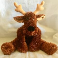 "Hallmark 14"" Sparkly COMET Christmas Reindeer JINGLE BELL Plush Stuffed Animal"