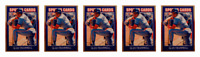 (5) 1992 Sports Cards #75 Alan Trammel Baseball Card Lot Detroit Tigers