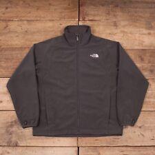 "Mens Vintage North Face Grey Polyester Outdoors Fleece Jacket Medium 40"" R8638"