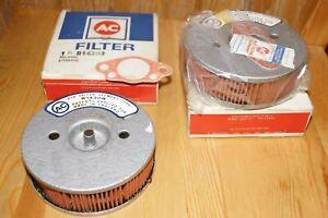 NOS Original AC Air Filters for Triumph Spitfire Mk 1, II - USA + Canada spec