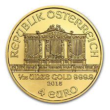 2015 Austria 1/25 oz Gold Philharmonic BU - SKU #84906