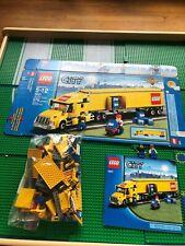 LEGO- CITY- LEGO TRUCK- 3221- 100% COMPLETE- W/ BOX