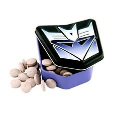 Official Transformers Decepticons Logo Tinned Sour Retro Sweets x 1 - Party Bag