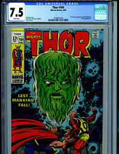 Thor  # 164 CGC 7.5  1969 3rd cameo of Him Amricons K28