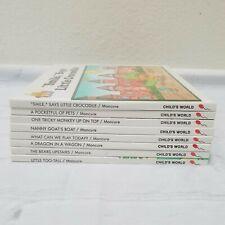 Magic Castle Readers Vintage 1988 Beginner Reading Children's Books Lot of 8