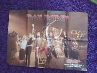 IRON MAIDEN / METALLICA Double Side Poster Heavy Metal