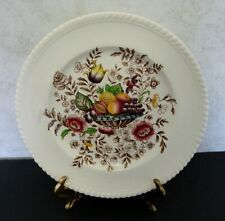 Johnson Brothers Ponoma Old English Windsor Ware Flower & Fruit Dinner Plate