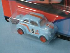 HotWheels 60's Fiat 500D Modificado Toy Model Car 55mm USA Gulf Oil Car Culture