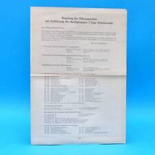 Regelung der Öffnungszeiten in Weimar | Verkaufsstellen | Werbung | DDR 1967