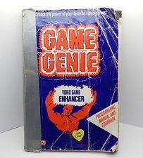 Galoob Game Genie Programming Manual and Codebook R13753
