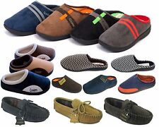 Mens Clog Memory Foam Mule Slip on Slippers Shoes by Coolers Sizes 7,8,9,10,11