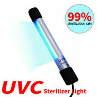 Portable Sterilizing Lamp Tube UVC Ultraviolet Sterilizer Germicidal Lights
