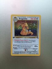 Dragonite 4/62 1st Edition  Fossil Set Holo Pokemon Card