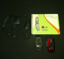 LG c2000 Camera Tri-Band GSM Speaker Voice Dial Color Flip AT&T Cell Phone Clean