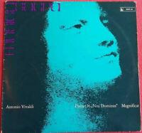 """Antonio Vivaldi / Psalm 126 """"Nisi Dominus"""" Magnificat g-moll LP Vinyl"""