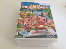 Super Monkey Ball: Step & Roll (Nintendo Wii, 2010) Wii NEW!