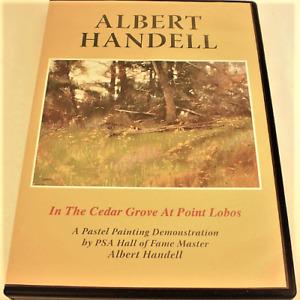 Albert Handell In The Cedar Grove At Point Lobos DVD (Pastel Instruction) DVD
