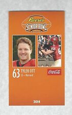 TYLER OTT 2014 SENIOR BOWL HARVARD CRIMSON FOOTBALL ROOKIE CARD SEATTLE SEAHAWKS