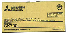 Mitsubishi CK-700 Color Print Paper for CP700 Series Printers 1 roll per box