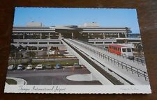 Vintage Postcard Tampa International Airport Jetport 1971