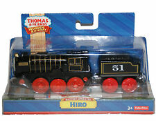 MOTORIZED BATTERY POWERED / OPERATED HIRO Thomas Tank Wooden Railway NEW IN BOX