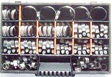 50x Schlauchschellen Klemmschellen Edelstahl  W2 Sortimentkasten Mix 8-60 mm