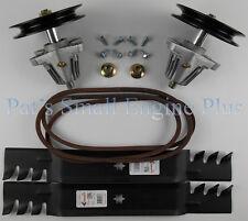 "Cub Cadet 42"" Spindles, Mulcher Blades & Belt Kit fits LTX1040 LTX1042, 2010+"