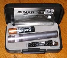 Maglite Solitaire Pewter maglight  mag-lite   mag-light