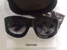 TOM FORD MILA SUNGLASSES FT0403 S SHINY BLACK