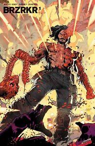 (2021) Keanu Reeves Brzrkr (Berzerker) #1 3rd Print Dan Mora Foil Variant Cover!