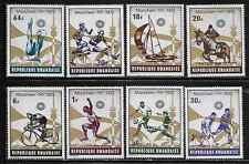 Rwanda 478-85 Summer Olympic Sports Mint NH
