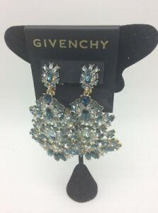 $225  Givenchy cluster drop statement  Chandelier earrings 21 GE