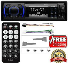 Car Stereo MP3 Player Bluetooth Usb Aux SD Radio Boss Audio 200W Wireless Remote