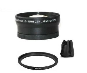 2x Digital Telephoto Lens For Sony NEX-7 NEX-5 NEX-5N NEX-5R NEX-3 NEX-C3 A3000