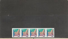United States 3281c Mnh Plate Strip 5 Plate 2222 2019 Scott Cat Value $4.75