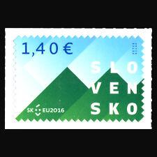 Slovakia 2016 - Slovak Presidency of the Council of the EU - Sc 744 MNH