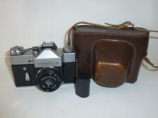 Zenit-B 35mm film SLR Camera USSR with Industar-50-2 lens In Case Export Edition