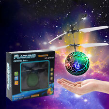 3PC RC Flying Ball Drone Helicopter Built-in Shinning LED Lighting for Kids Toy