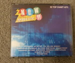 Now That's What I Call Music Vol.11 2CD excellent condition inlay foam inserts